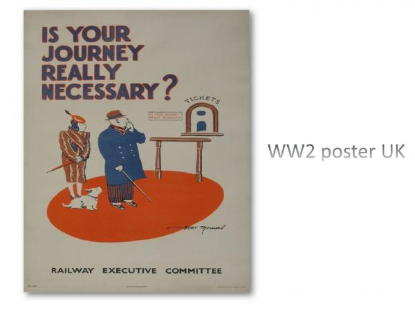 WW2 poster UK